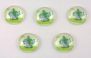 `Кабошон, стекло, диаметр 24 мм, Арт. 404370056