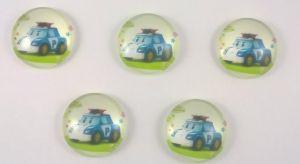 `Кабошон, стекло, диаметр 24 мм, Арт. 404370062