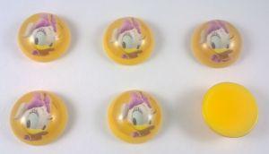 `Кабошон, пластик, диаметр 22 мм, Арт. 404370309