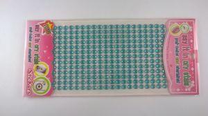 `Стразы на листе, самоклеящиеся, диаметр 6 мм, Арт. 404906733