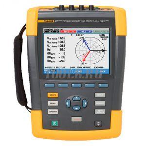 Fluke 438 II/BASIC - анализатор качества электроэнергии