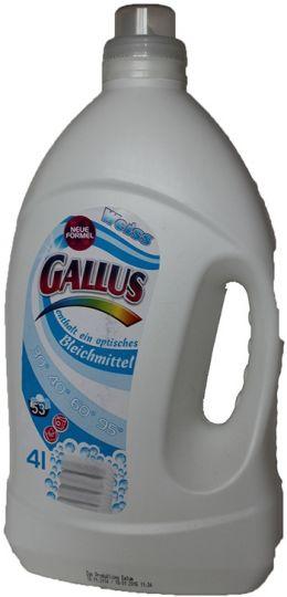 Gallus Гель для стирки белого белья 4 л