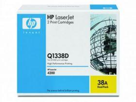 HP Q1338D Картридж Оригинальный Black, 2-pack (2 x 12000стр.)