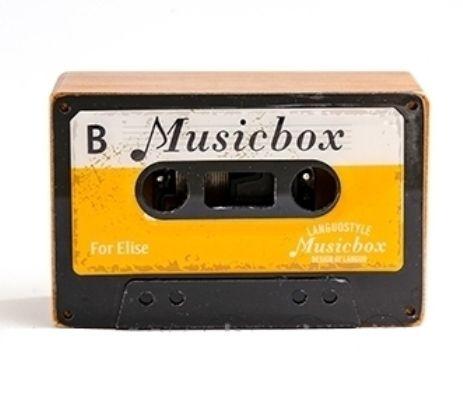 Музыкальная коробочка Retro Cassette «For Elise» - Yellow