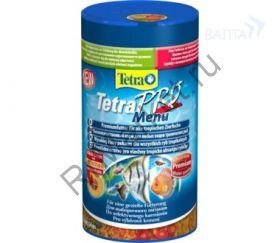 """TetraPro Menu корм для всех видов рыб """"4 вида"""" мелких хлопьев"""