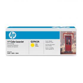 HP Q3962A Картридж оригинальный Yellow (4000 стр.)