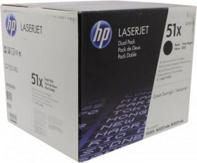 HP Q7551XD Картридж оригинальный Black, 2-pack, (2 x 13000стр.)