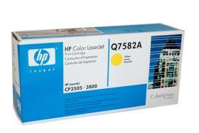 HP Q7582A Картридж оригинальный , Yellow (6000стр.)
