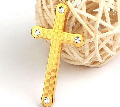 Нательный крест 05-LQS-14-c91