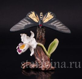Бабочка Парусник, Goebel, Германия, до 1990 г., артикул 02297