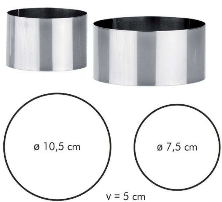 Формочки для придания формы продуктам CHEF TESCOMA 2 шт 428260