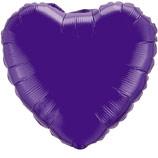 """Фигура """"Сердце"""" фиолетовый, 18"""", Испания"""