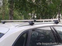 Багажник на крышу Audi Q5, Атлант, прямоугольные дуги
