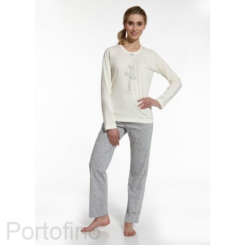 655-39 женская пижама футболка и брюки Cornette