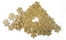 Комплект квадратных пазлов