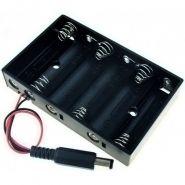 Батарейный держатель с DC PJack (6 AA)
