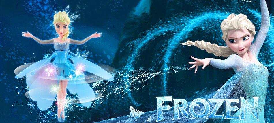 """Летающая фея """"Frozen"""" - холодное сердце."""