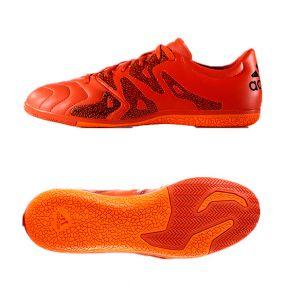 Футзалки adidas X 15.3 IN Leather красные