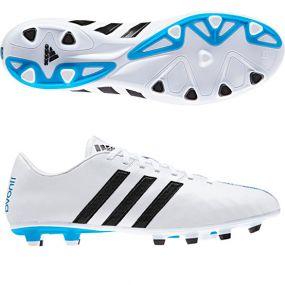 Бутсы adidas 11Nova FG белые