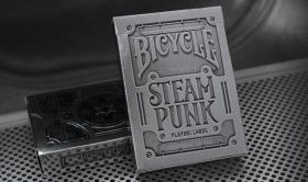 Карты Bicycle Steam punk Silver