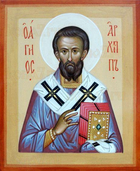 Икона Архип, апостол от 70-ти (рукописная)