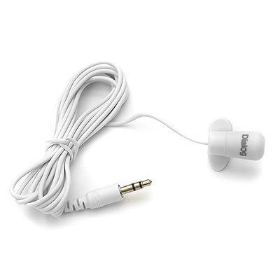 Микрофон ПК Dialog прищепка M-106W