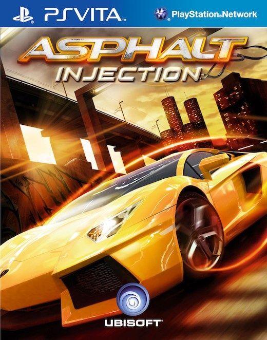 Игра Asphalt injection (PS Vita)