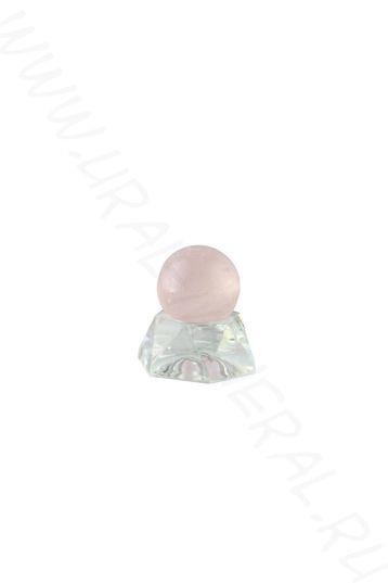 Шар (23-24 мм) - Розовый кварц