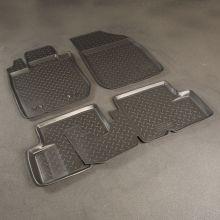 Коврики в салон, Unidec, полиуретан, для 4WD до 2015г.в.