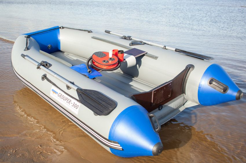 Лодка «Групер» 330