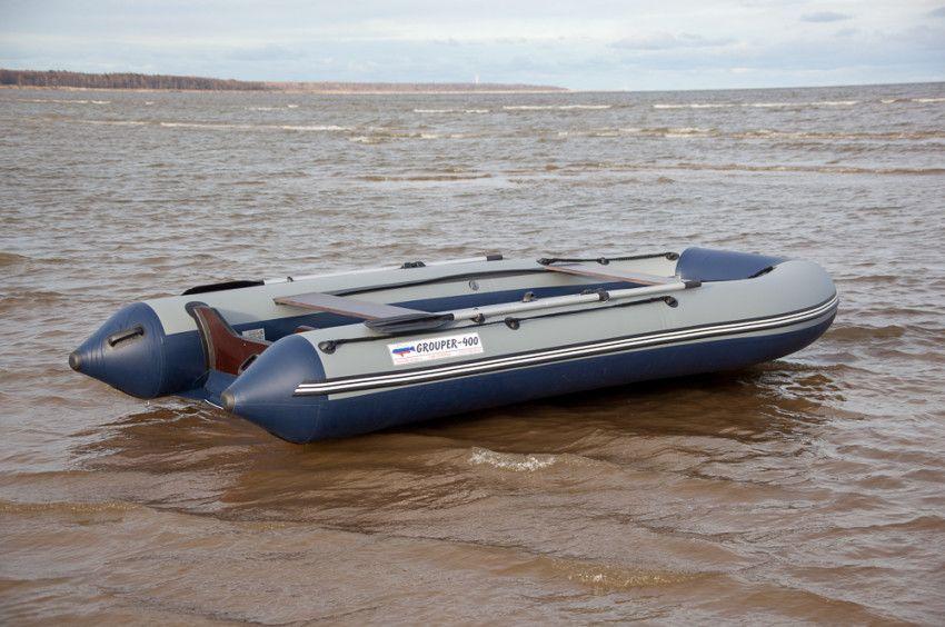 Лодка «Групер» 400