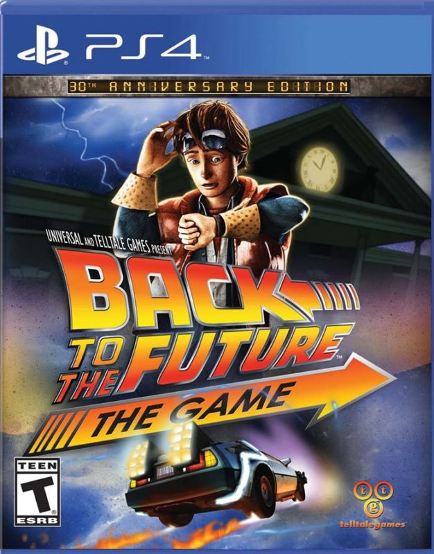 Игра Back to the Future The Game (PS4) Назад в будущее