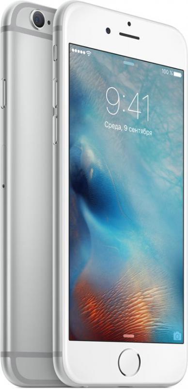 Apple iPhone 6S 128 ГБ Серебристый RFB