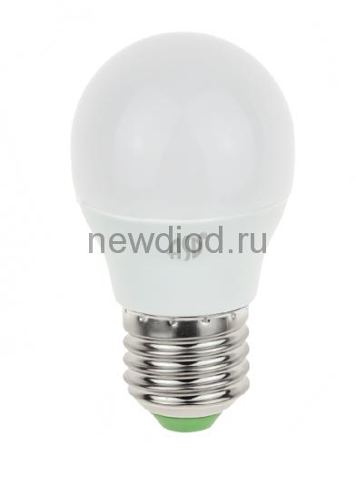 Лампа светодиодная LED-ШАР-standard 5Вт 160-260В Е27 4000К 450Лм ASD
