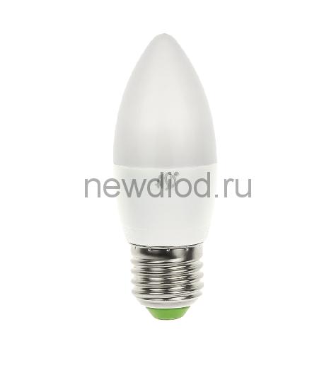 Лампа светодиодная LED-СВЕЧА-standard 5Вт 160-260В Е27 4000К 450Лм ASD