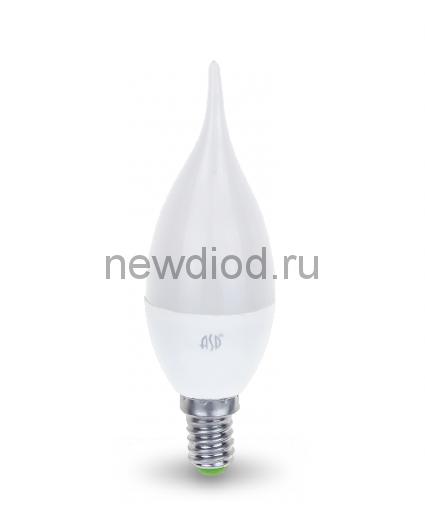 Лампа светодиодная LED-СВЕЧА НА ВЕТРУ-standard 5Вт 160-260В Е14 4000К 450Лм ASD