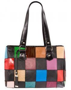 Разноцветная итальянская сумка