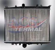 Радиатор пежо 406