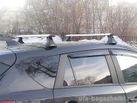 Багажник на крышу Mazda CX-5, Атлант, крыловидные аэродуги