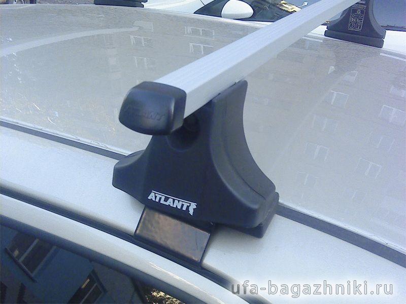 Багажник на крышу Hyundai Elantra 3, Атлант, прямоугольные дуги