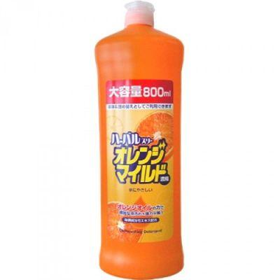 Mitsuei Концентрированное средство для мытья посуды, овощей и фруктов с ароматом апельсина