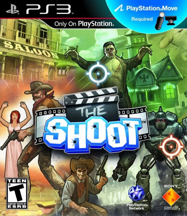 Игра The Shoot (PS3,move)