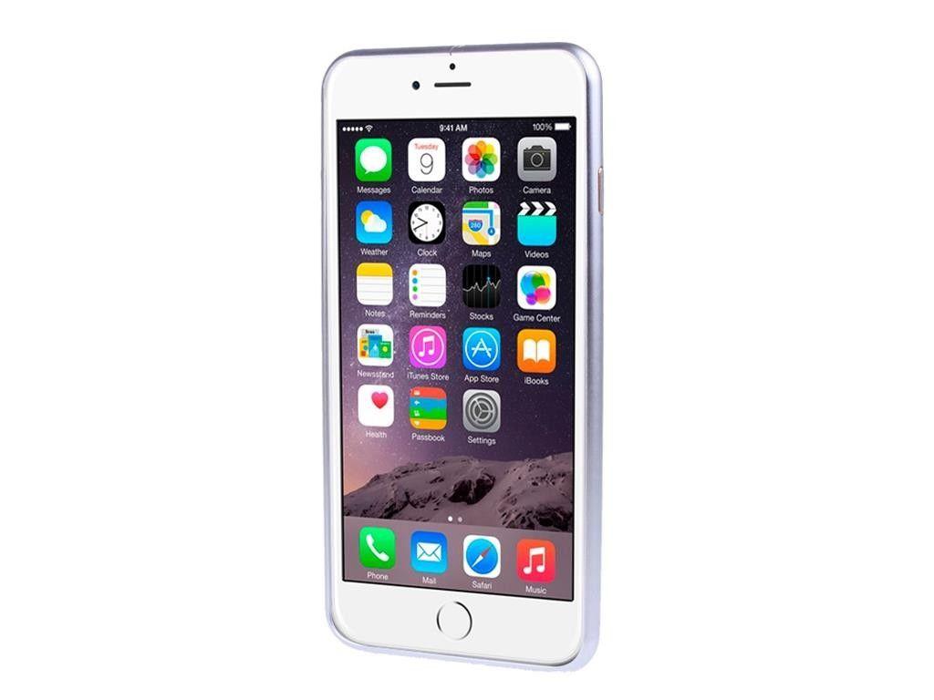 Алюминиевый бампер на iphone 6/6s (silver)