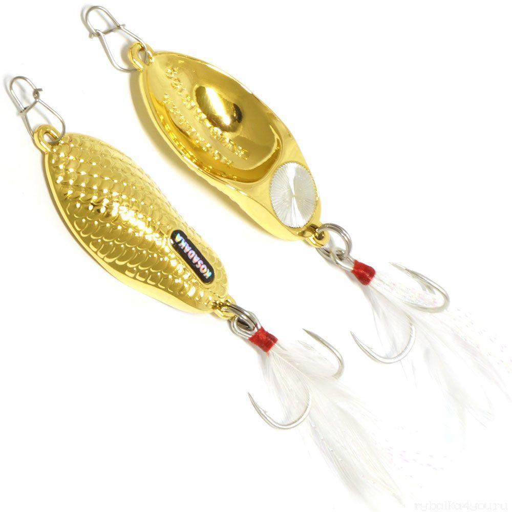 Купить Блесна Kosadaka Evo-RG 60мм / 15 гр цвет: Gold