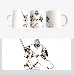 Кружка с хоккейной символикой (Арт. К-15)