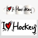 Кружка с хоккейной символикой (Арт. К-16)
