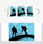 Кружка с хоккейной символикой (Арт. К-28)