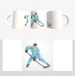 Кружка с хоккейной символикой (Арт. К-107)