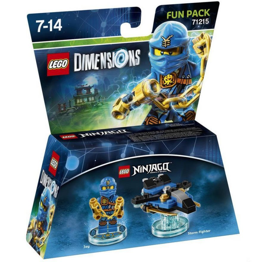 Lego Dimensions 71215 Jay (серия Ninjago)