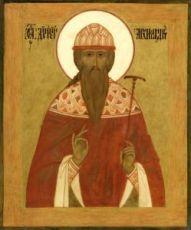 Дионисий Радонежский (рукописная икона)